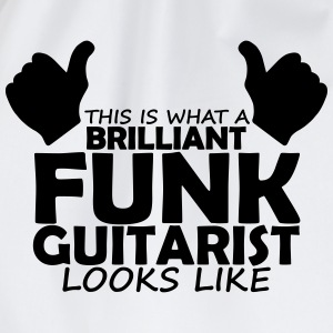 brilliant funk guitarist T-Shirts - Drawstring Bag