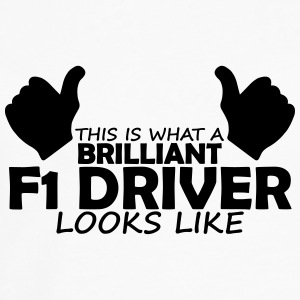 brilliant f1 driver T-Shirts - Men's Premium Longsleeve Shirt