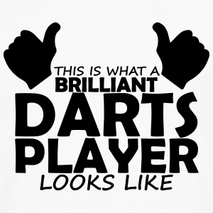 brilliant darts player T-Shirts - Men's Premium Longsleeve Shirt
