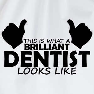 brilliant dentist T-Shirts - Drawstring Bag