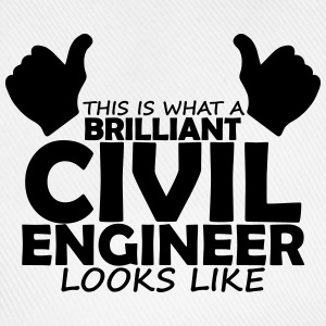 brilliant civil engineer T-Shirts - Baseball Cap