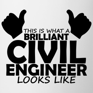 brilliant civil engineer T-Shirts - Mug