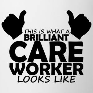brilliant care worker T-Shirts - Mug