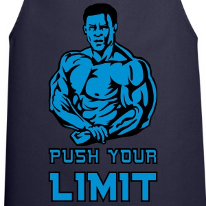 push your limit T-Shirts - Cooking Apron