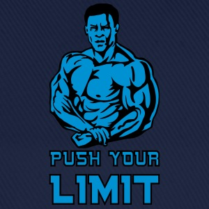 push your limit T-Shirts - Cappello con visiera