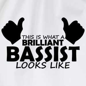 brilliant bassist T-Shirts - Drawstring Bag