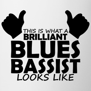 brilliant blues bassist T-Shirts - Mug