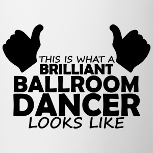 brilliant ballroom dancer T-Shirts - Mug