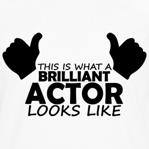 brilliant actor T-Shirts - Men's Premium Longsleeve Shirt