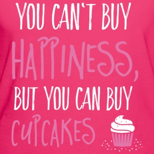 Cant buy happiness, but cupcakes Bags & Backpacks - Women's Organic T-shirt