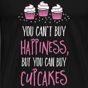 Cant buy happiness, but cupcakes Tops - Men's Premium T-Shirt