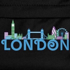 Skyline de Londres Vêtements de sport - Sac à dos Enfant