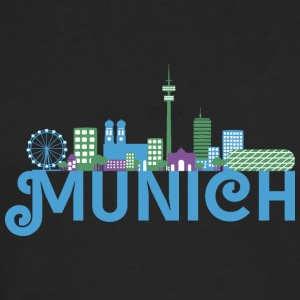 Skyline of Munich Shirts - Men's Premium Longsleeve Shirt