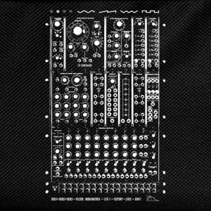 Modular Synth T-Shirts - Kids' Backpack
