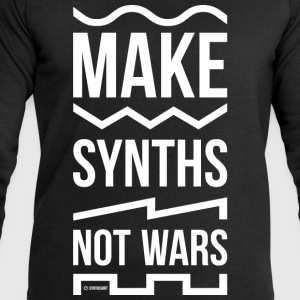 Make Synths Not Wars - Men's Sweatshirt by Stanley & Stella