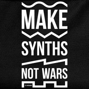 Make Synths Not Wars - Kids' Backpack