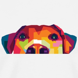 Sweet Dog Mousepad - Männer Premium T-Shirt