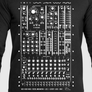 Modular Synth Doublesided - Men's Sweatshirt by Stanley & Stella