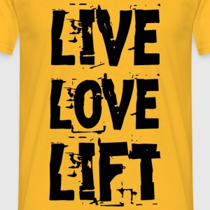 Lift Tops - Männer T-Shirt