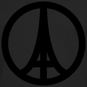 Paris in Peace - T-shirt manches longues Premium Homme