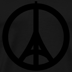 Paris Peace - Männer Premium T-Shirt