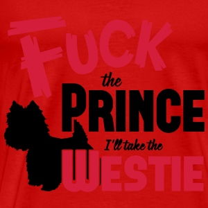 Dog shirt: I'll take the Westie Débardeurs - T-shirt Premium Homme