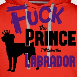 Dog shirt: I'll take the Labrador Long Sleeve Shirts - Men's Premium Hoodie