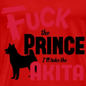 Dog shirt: I'll take the Akita Débardeurs - T-shirt Premium Homme