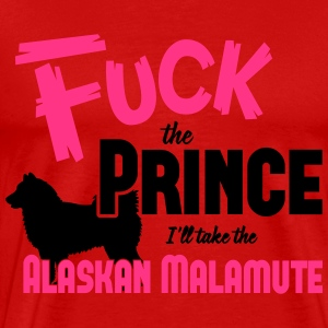 Dog shirt: I'll take the Alaskan Malamute Shirts met lange mouwen - Mannen Premium T-shirt