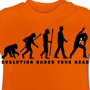 evolution_metal_fan_headbanger_112015_a_ T-Shirts - Baby T-Shirt