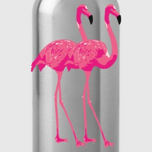 Kinder t-shirt 'Flamingo buddies'  - Drinkfles