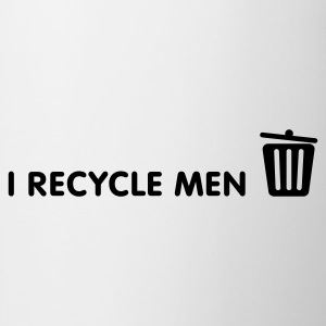 I Recycle Menn Topper - Kopp