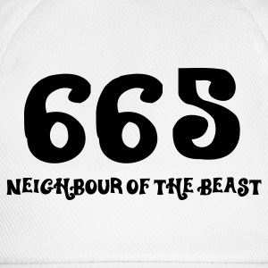 665: The neighbor of the beast Shirts - Baseball Cap