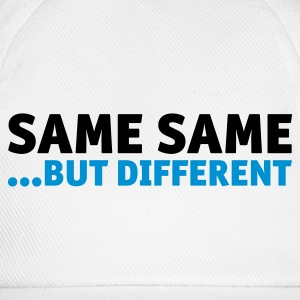 same same, but different Baby Bibs - Baseball Cap