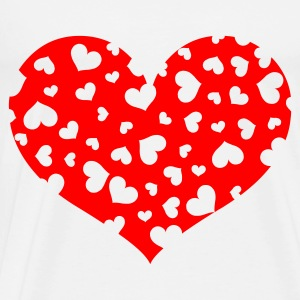 Hundreds heart Tops - Men's Premium T-Shirt