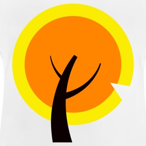 Orangener tree Long Sleeve Shirts - Baby T-Shirt