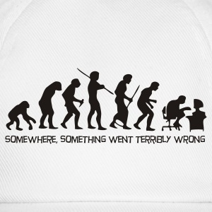 The evolution of man T-Shirts - Baseball Cap