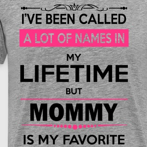 i've been called a lot of names in my lifetime bu Long Sleeve Shirts - Men's Premium T-Shirt