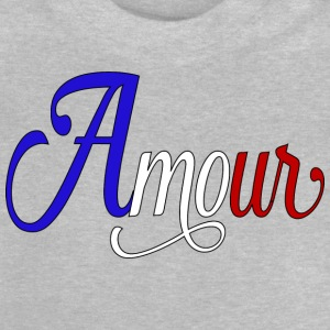 amour france Tee shirts - T-shirt Bébé