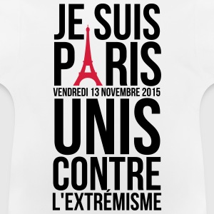 I'm Paris together against extremism terror Shirts - Baby T-Shirt