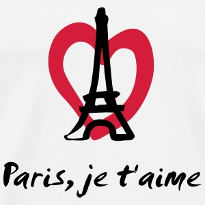 Paris, je t'aime - France Tank Tops - Men's Premium T-Shirt