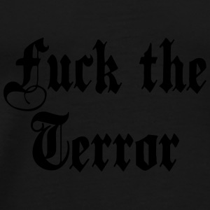 fuck_the_terror Peluches - T-shirt Premium Homme