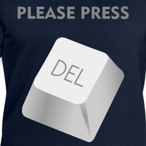 Please press DELATE T-Shirts - Men's Sweatshirt by Stanley & Stella