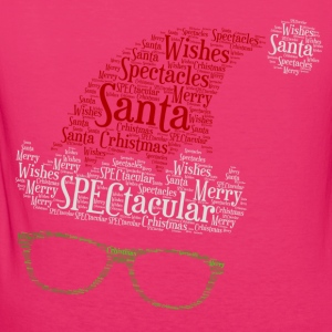 SPECtacular Santa with SPECS patjila Hoodies & Sweatshirts - Women's Organic T-shirt