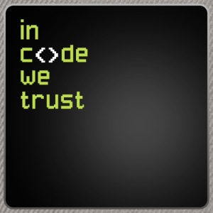 In Code We Trust T-Shirts - Snapback Cap