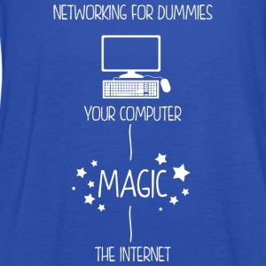 Networking For Dummies T-Shirts - Women's Tank Top by Bella