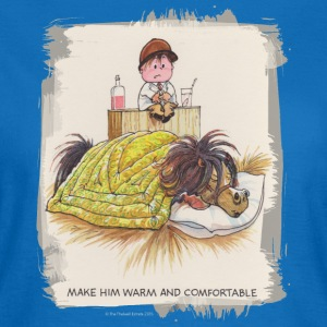Thelwell Pony in a bed - T-shirt dam