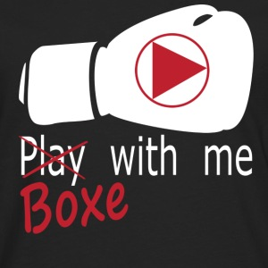 boxe with me Tee shirts - T-shirt manches longues Premium Homme