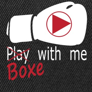 boxe with me Tee shirts - Casquette snapback
