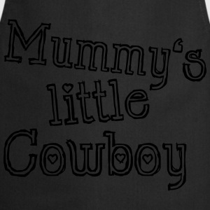 Mummy's little Cowboy Camisetas - Delantal de cocina